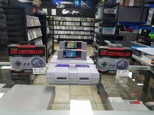 Super Nintendo Consoles, Controllers, Power Cords, Video Cords and more! for Sale in Glendale, AZ