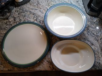 Pfaltzgraff stoneware serving pieces Mountain Shadow for Sale in Manassas,  VA