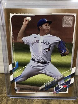 NATE PEARSON 2021 21 TOPPS SERIES 1 GOLD BORDER ROOKIE #113 #ED 0608 /2021 for Sale in Corona,  CA