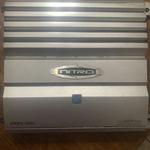 NITRO AMPLIFIER 800w 4CH for Sale in Los Angeles, CA