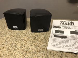 Acoustic Audio micro speakers with mounts for Sale in Affton, MO