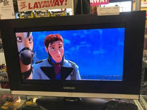 """Samsung 26"""" Flatscreen no remote as is for Sale in Bakersfield, CA"""