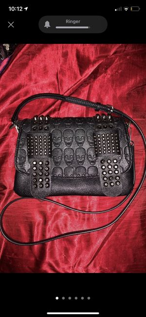 Black Skull and Studs Crossbody Purse/Bag for Sale in Jersey Shore, PA