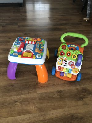 Baby learning table and walker for Sale in Lake Placid, FL