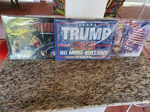 Metal Trump Signs 17x12 Brand New for Sale in Stockbridge, GA