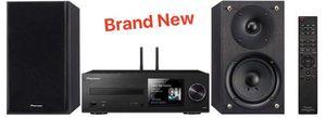 Mini Stereo System CD Player Tuner,WiFi & Bluetooth Equipo de Sonido Recibidor Pioneer X-HM76 2-Channel 40W for Sale in Miami, FL