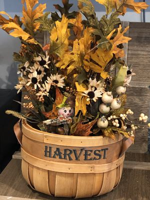 Fall basket for Sale in Graham, WA