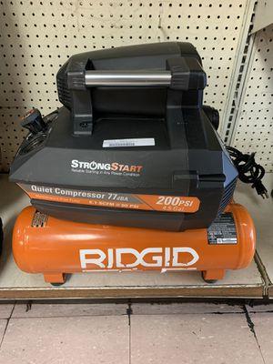 Ridgid air compressor dual tank for Sale in Austin, TX