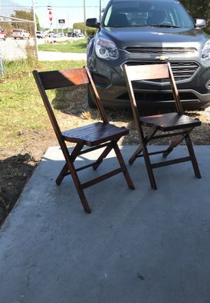Silla de madera for Sale in Pembroke Pines, FL