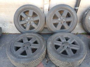 19 inch land Rover alloy wheels 5 on 120mm with tires for Sale in Montebello, CA