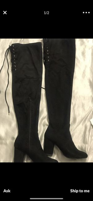 Thigh High Celia Boots size 8 for Sale in Hazard, CA