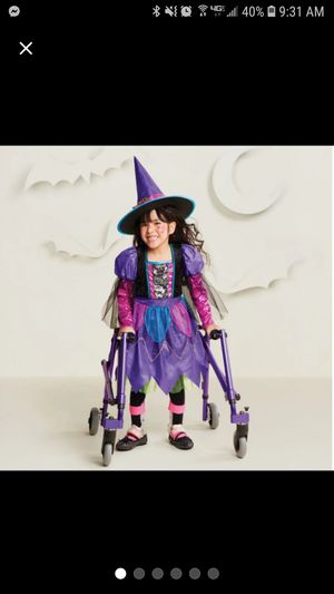 Girls Colorful Witch Halloween Costume for Sale in Pomona, CA