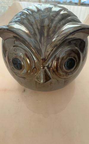 Decorative Ceramic Owl for Sale in Glendale, CA