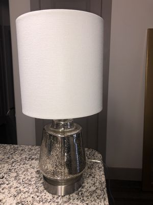 Mercury glass table lamp for Sale in Mansfield, TX