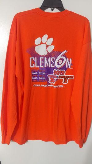 New Clemson vs Gamecocks 6 in a row for Sale in Greenville, SC