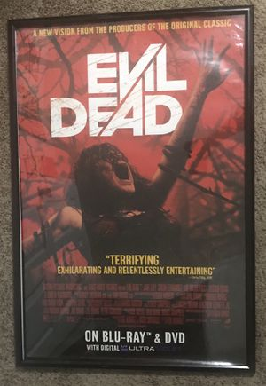 Big Evil Dead Poster 27x40 FRAME NOT INCLUDED for Sale in Port St. Lucie, FL