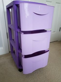 Plastic Drawers On Wheels for Sale in Fuquay-Varina,  NC