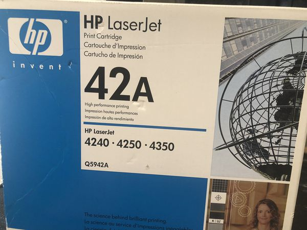 HP 42A | Q5942A | Printer Toner Cartridge | Black (BRAND NEW)