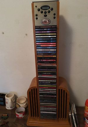 Cds and CD player tower for Sale in Mansfield, TX