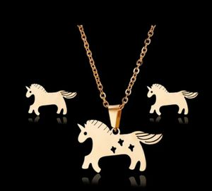 Unicorn gold stainless steel.set for Sale in Dearborn, MI
