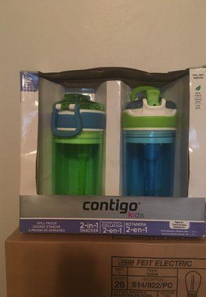 New Contigo Kids 2-in-1 water bottles for Sale in Kingsley, MI