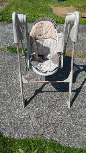 Baby swing for Sale in Aberdeen, WA