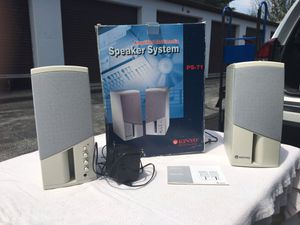 KINYO Amplified Multimedia Speaker System PS-71 for Sale in Frederick, MD