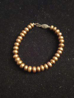 Pearl Bracelet with Sterling Silver Clasp for Sale in Mount Rainier,  MD