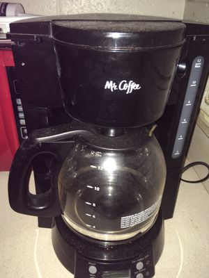 Mr Coffee coffee maker for Sale in Norfolk, VA