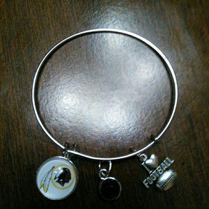 Washington Redskins wire charm bracelet for Sale in Nashville, TN