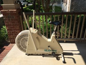 DP exercise bike older model and has damage to the seat. Never figured out how to use the register. for Sale in Franklin, TN