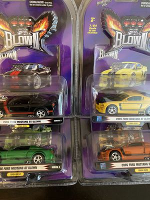 1:64 Scale 1 Badd Ride Blown Complete Series 3 Set of 2005 Ford Mustang GT Blown Diecast for Sale in Surprise, AZ