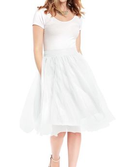 Ivory Tulle Skirt Size Small for Sale in Boston,  MA