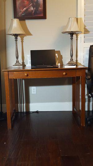 Sturdy Wooden Desk for Sale in San Antonio, TX