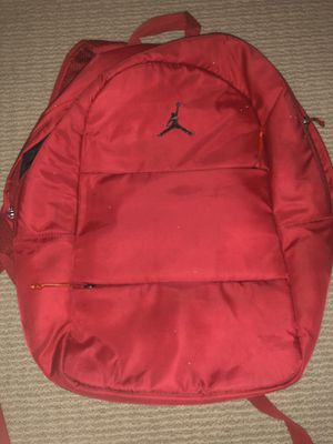 Red jordan backpack for Sale in Chula Vista, CA