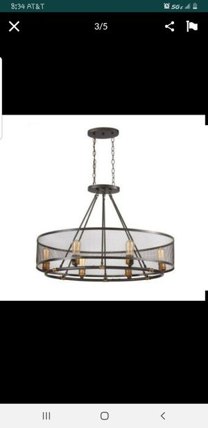 HOME DECORATORS COLLECTION Mayfield Park 6-Light Oval Chandelier,Model 1001 715 950 for Sale in Tampa, FL