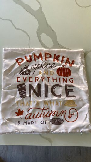 Fall pillow case for Sale in San Diego, CA