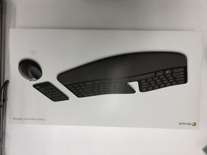 Microsoft Ergonomic Wireless Keyboard Mouse and Num Pad Set for Sale in Arlington, VA
