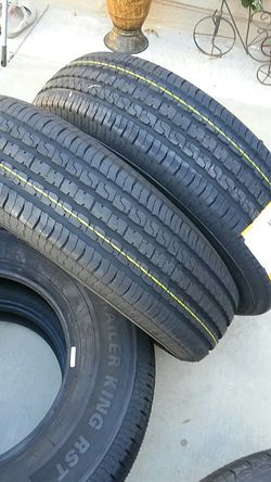 4 new trailer tires 225/75/15 ..10 ply..load E for Sale in Palmdale,  CA