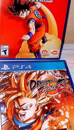 PS4 DRAGONBALL Z GAMES BOTH GAMES FOR 30$ FIRM for Sale in Escondido,  CA