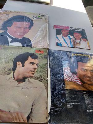 Julio iglesias vinil discos for Sale in Houston, TX