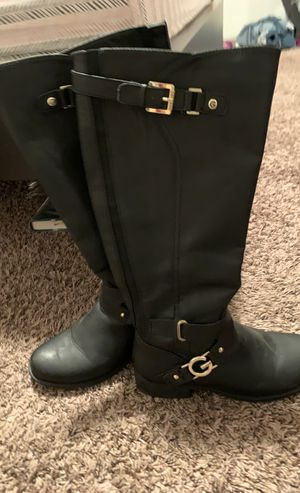 Black boots by guess for Sale in Nashville, TN