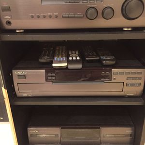 Kenwood Stereo System With Speakers for Sale in Yorba Linda, CA