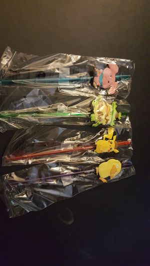 Pokemon straws for Sale in San Bernardino, CA