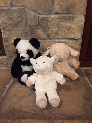 Cloud B Sleep Sheep, Pottery Barn Kids Plush Lamb And Panda for Sale in Las Vegas, NV
