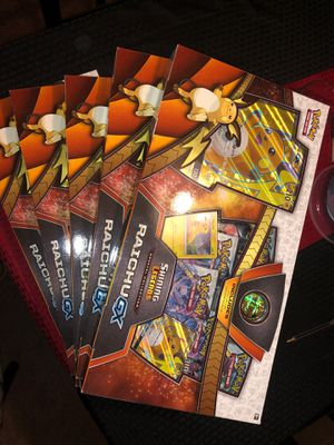 Pokemon Cards Shining Legends Special Collection Raichu GX for Sale in El Paso, TX