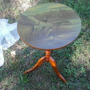 Small side table 36 inches tall & 14 inches wide for Sale in Dallas, GA