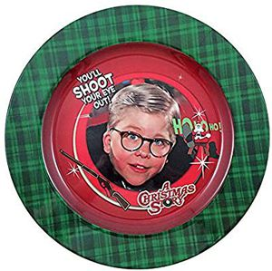 "A Christmas Story ""You'll Shoot Your Eye Out!"" 12-inch Melamine Dinner Plate for Sale in Hawthorne, CA"