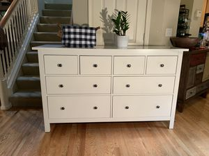 Large White 8-Drawer Dresser Chest for Sale in Redmond, WA