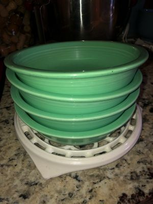 Retired Fiesta Seamist Green Bowls for Sale in Henderson, NV